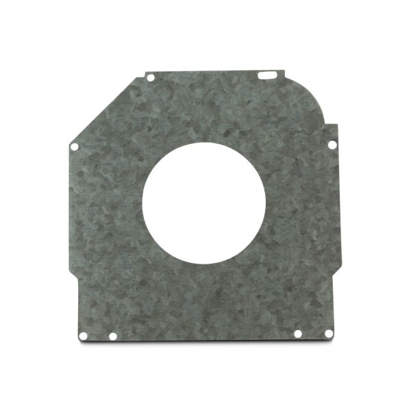 "Safetyplate f/S-Cap RV45-7""/180mm 72mm Hole/Galv St"