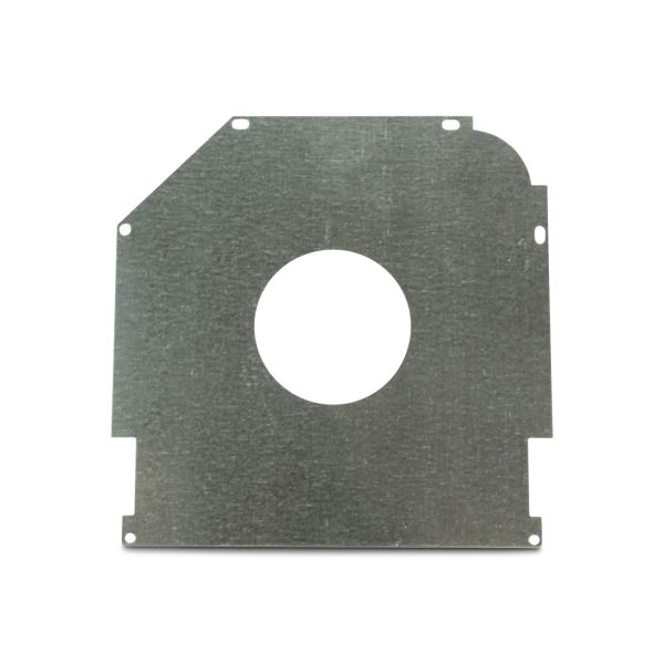 "Safetyplate f/S-Cap RV45-8""/205mm 72mm Hole/Galv Ctr"