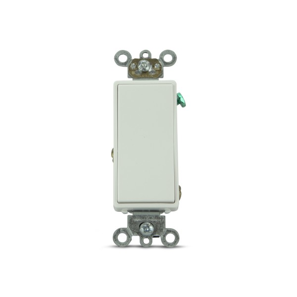 Momentary New Decorator Paddle Switches (White)