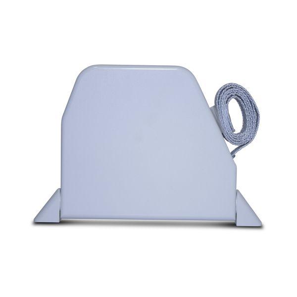 Mini Recoil Box Swivel Mount - White w/Grey