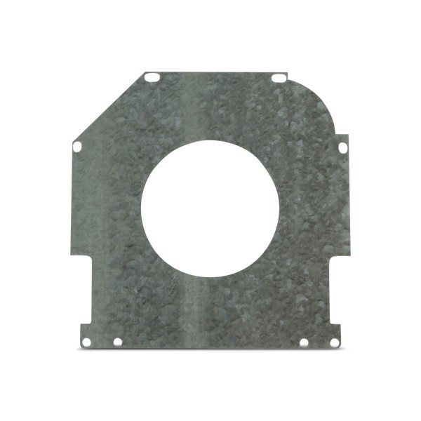 "Safetyplate f/S-Cap RV45-6""/150mm 72mm Hole/Galv Steel"