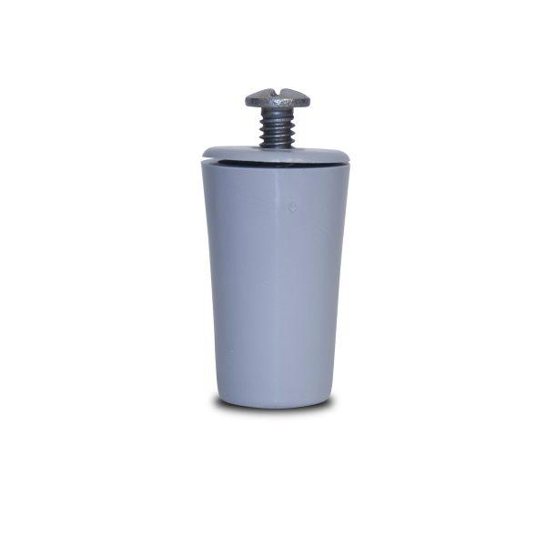Ext Plastic Stop f/40mm Maxi Base Slat S-S Screw