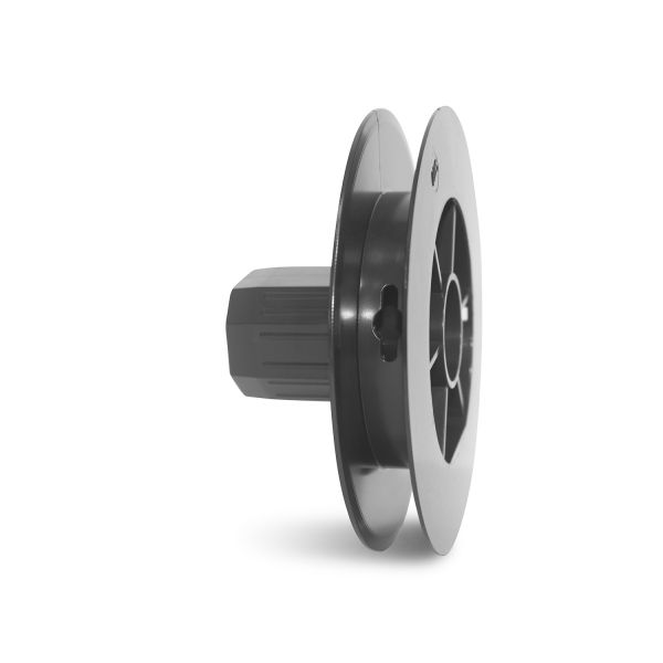 Mini Plastic Pulley 125mm f/40mm Oct Tube