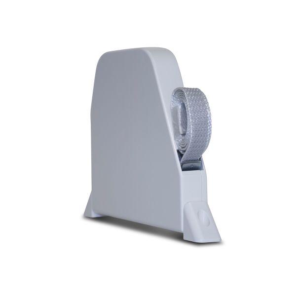 Mini Recoil Box - Swivel Mount - White Box / Grey Tape
