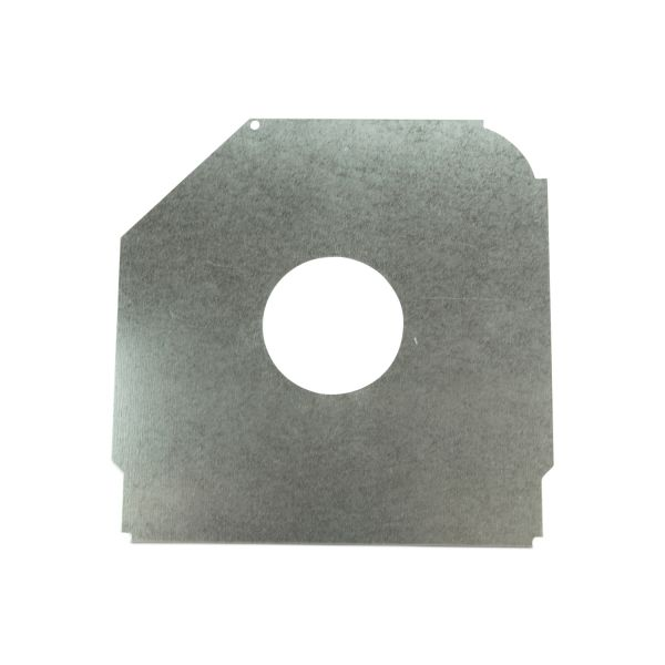 "Safetyplate f/S-Cap RV45-9""/230mm 3"" Hole /Galv St"