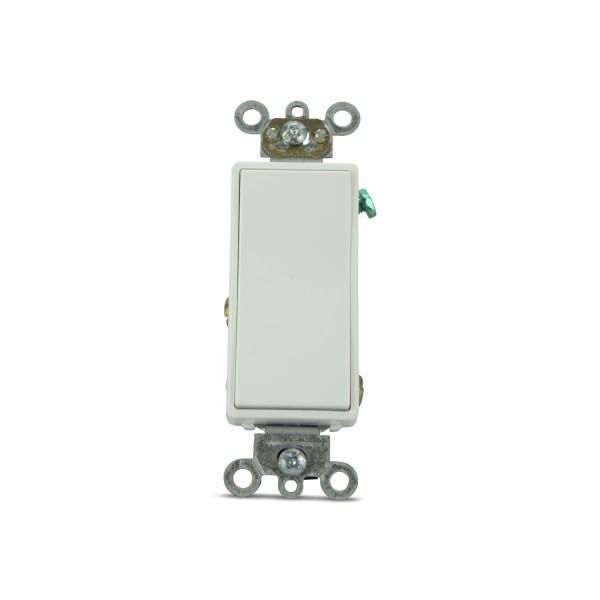 Maintained New Decorator Paddle Switches (White)