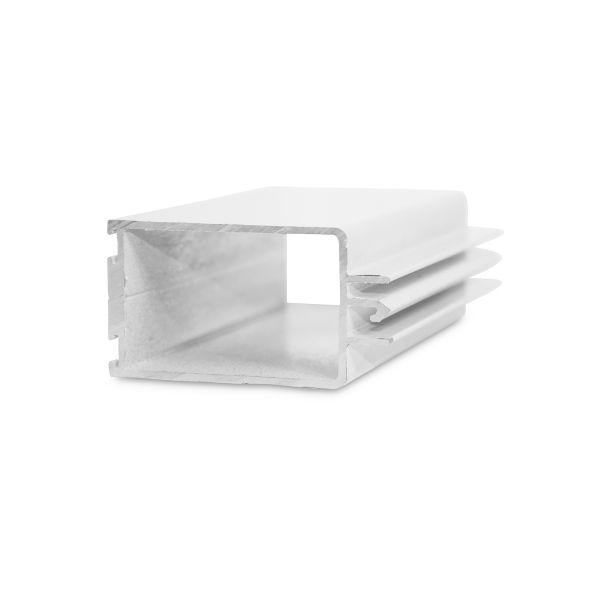 Aluminum Base Slat for all Slats with Heavy Duty or Commercial Lock
