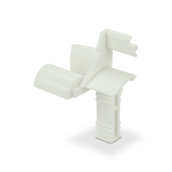 Entryguide PVC -White/Mini-System (Safetyplate BK 11mm)