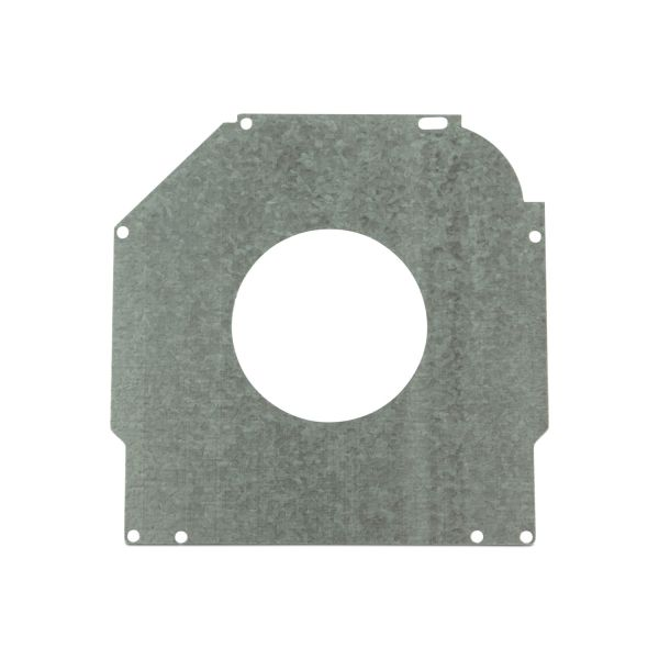 "Safetyplate f/S-Cap RV45-6.5""/165mm 72mm Hole/Galv Steel"