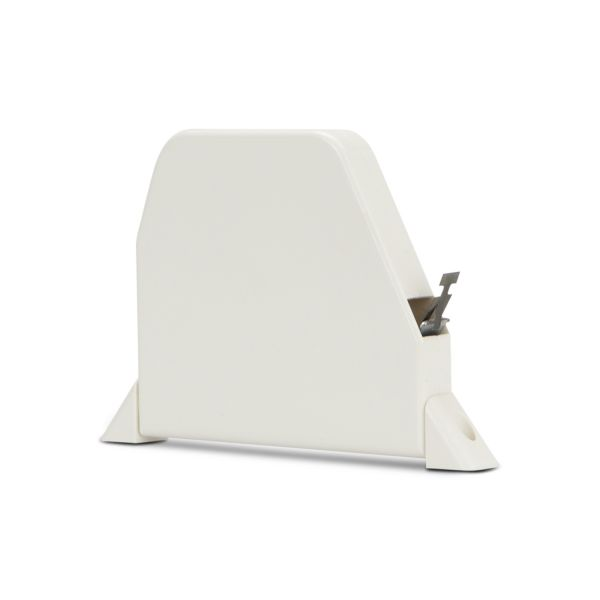 Mini Recoilbox Swivel Mount - White w/out Tape